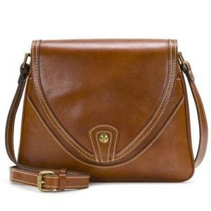 Patricia Nash Alimena Heritage Tan Leather Purse